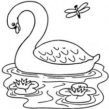 Barbie of Swan Lake Coloring Page 2