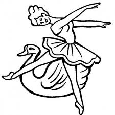 Barbie of Swan Lake Coloring Page 3