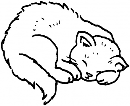 cat coloring page - Cats Coloring Pages
