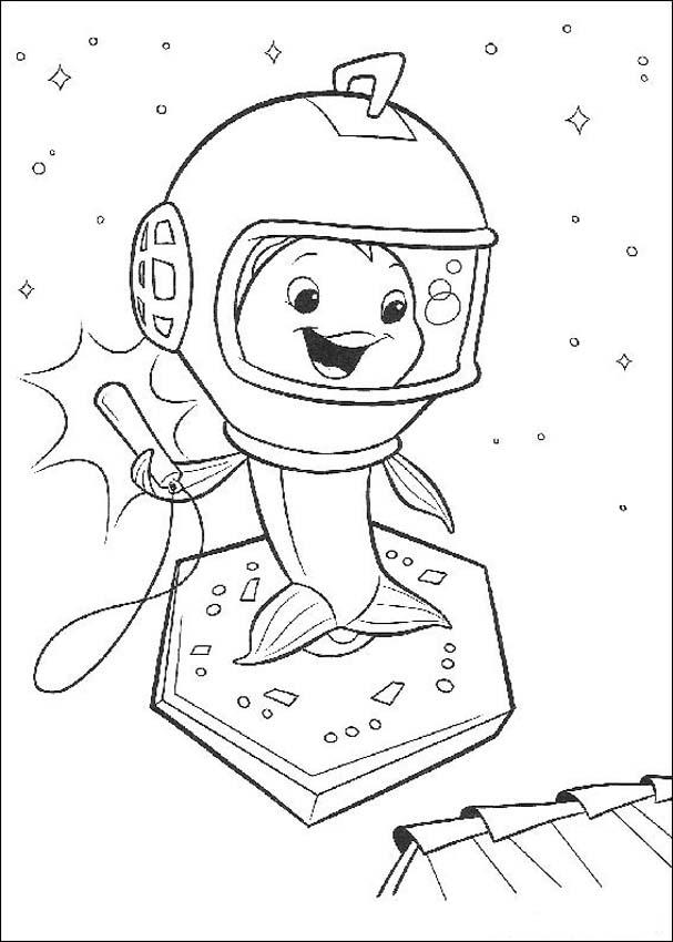 Chicken Little Coloring Page 9