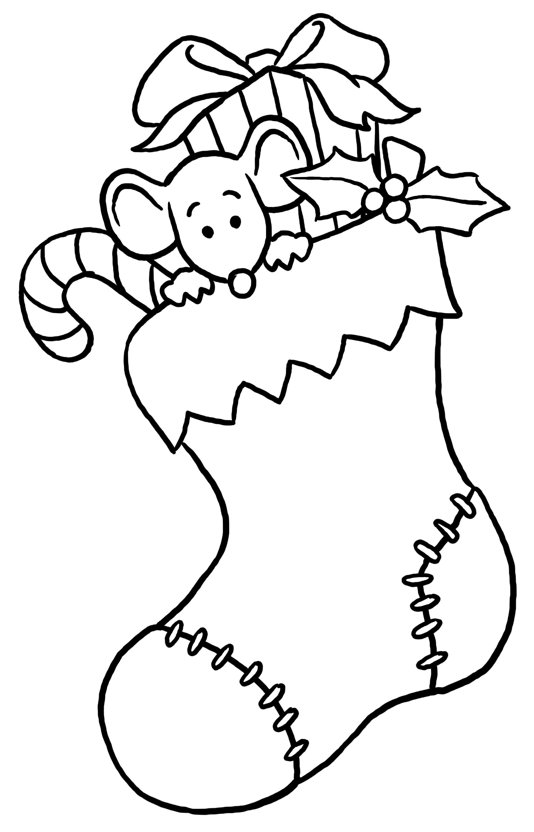 Christmas Coloring Page 7