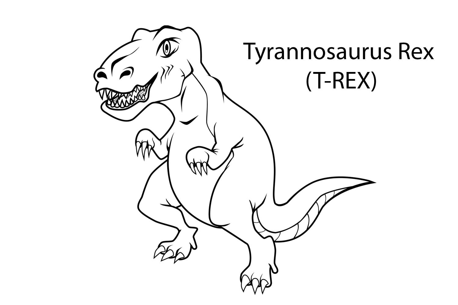 Pre k dinosaur coloring pages - Childrens Dinosaur Coloring Pages Dinosaur Coloring Page 9