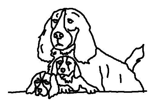 Dog Coloring Page 8