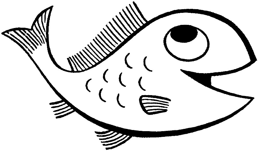 Fish Coloring Page 3