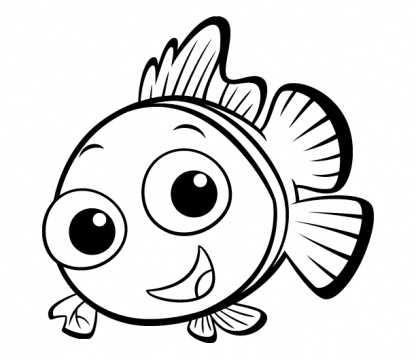 Fish Coloring Page 5