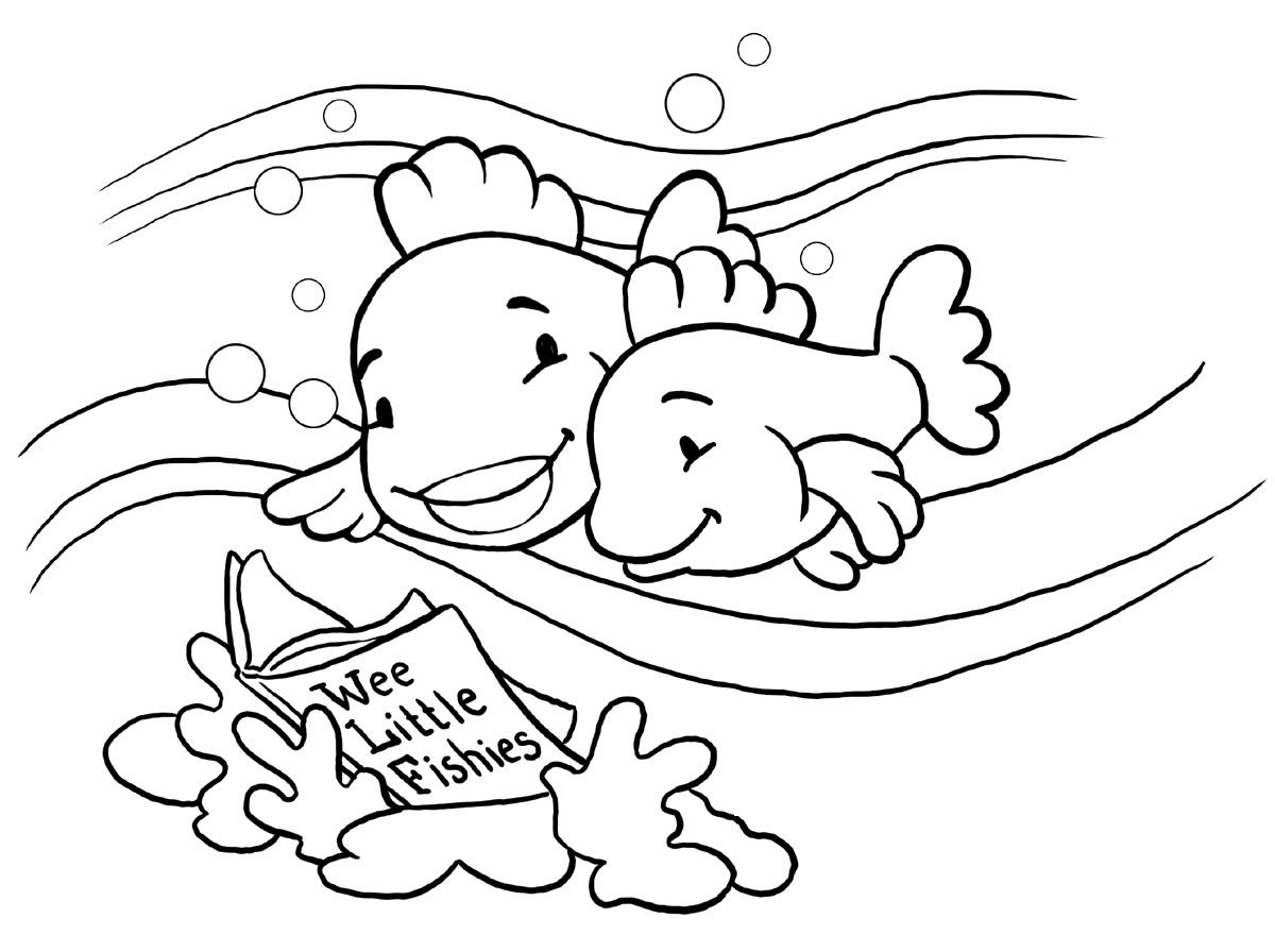 Fish Coloring Page 8
