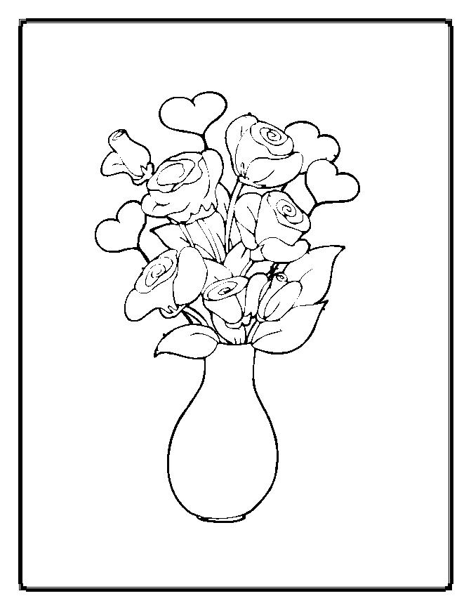 Flower Coloring Page 3