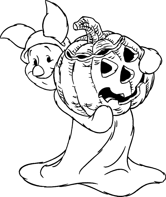 Halloween Coloring Page 6
