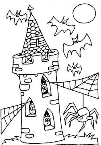 Halloween Coloring Page 8