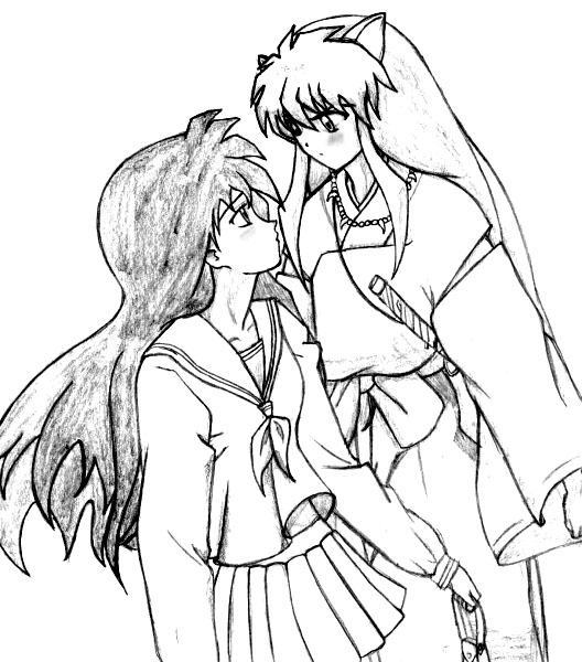 Inuyasha The Final Act Coloring Page 5