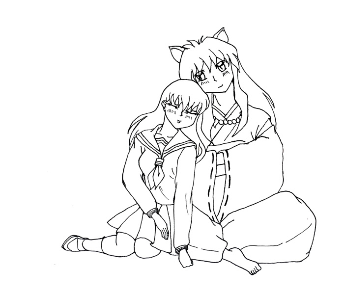 Inuyasha The Final Act Coloring Page 6