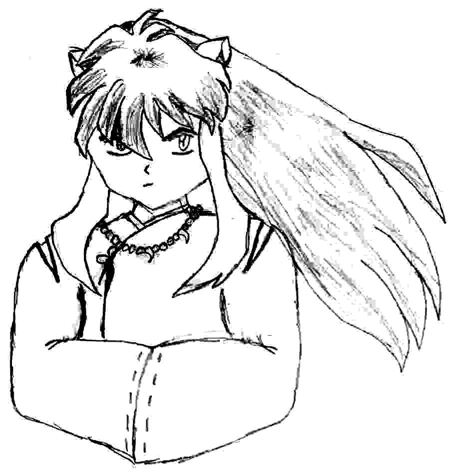 Inuyasha The Final Act Coloring Page 7