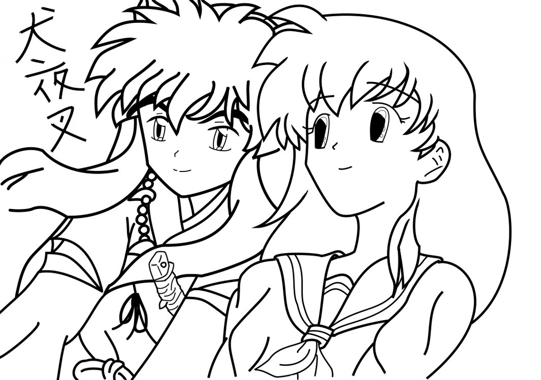 Inuyasha The Final Act Coloring Page 8