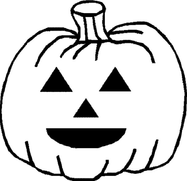 Pumpkin Coloring Page 2