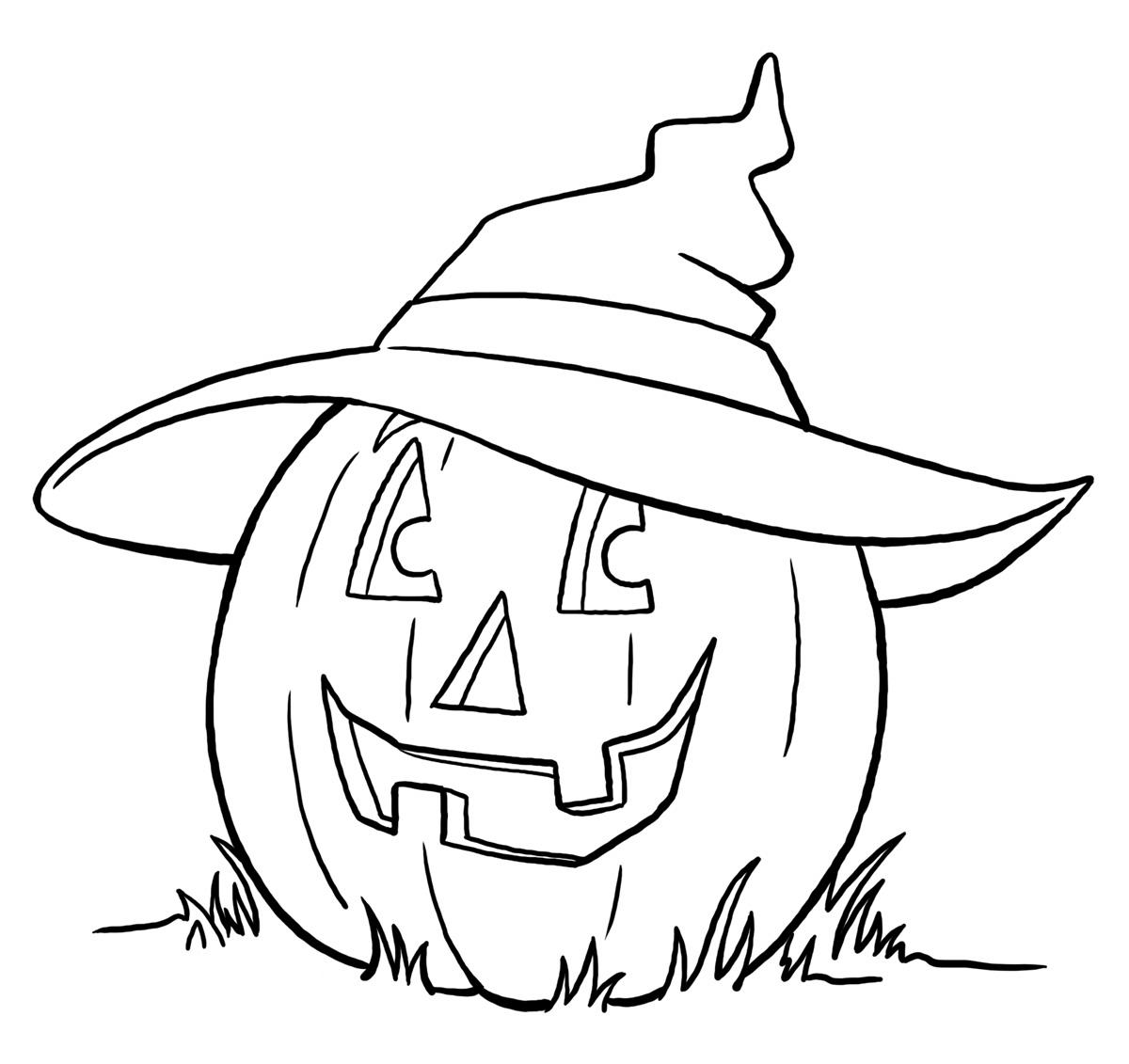 Pumpkin Coloring Page 7