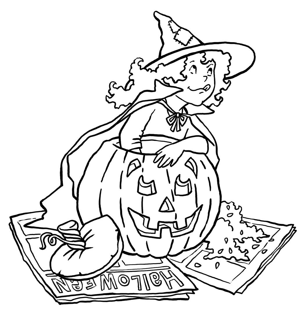 Pumpkin Coloring Page 8