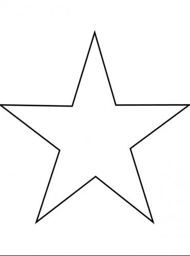Star Coloring Page 2