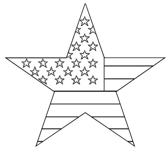 Star Coloring Page 3