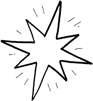 Star Coloring Page 5